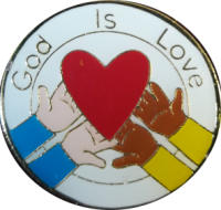 God Is Love medal1